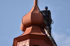 Malowanie dachu  2